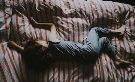 can't sleep after breakup